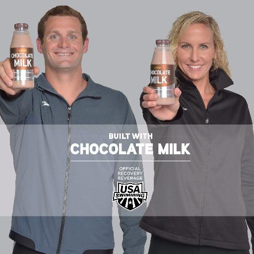 "Tyler Clary and Jessica Hardy Tapped for New ""Built With Chocolate Milk"" Campaign"
