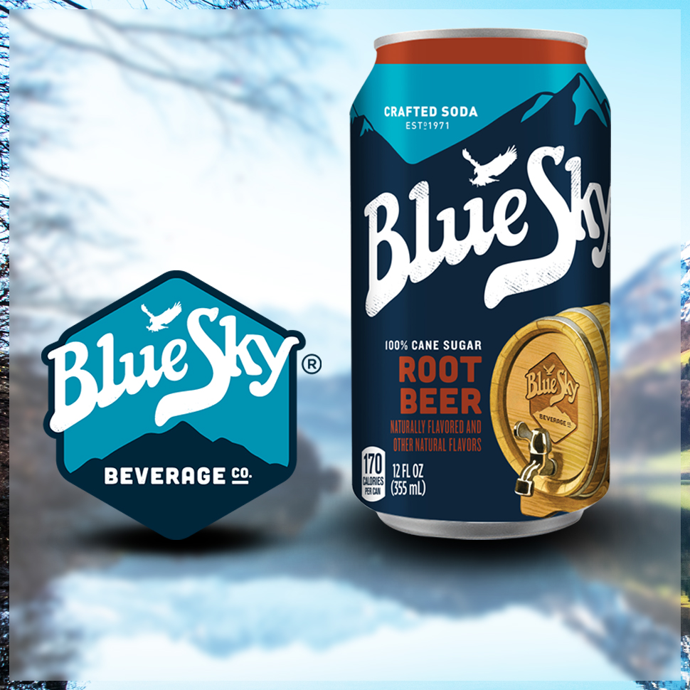 VEB Launches Rebranded Hansen's and Blue Sky Soda at Expo West