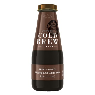 Bottled Starbucks Cold Brew Coffee