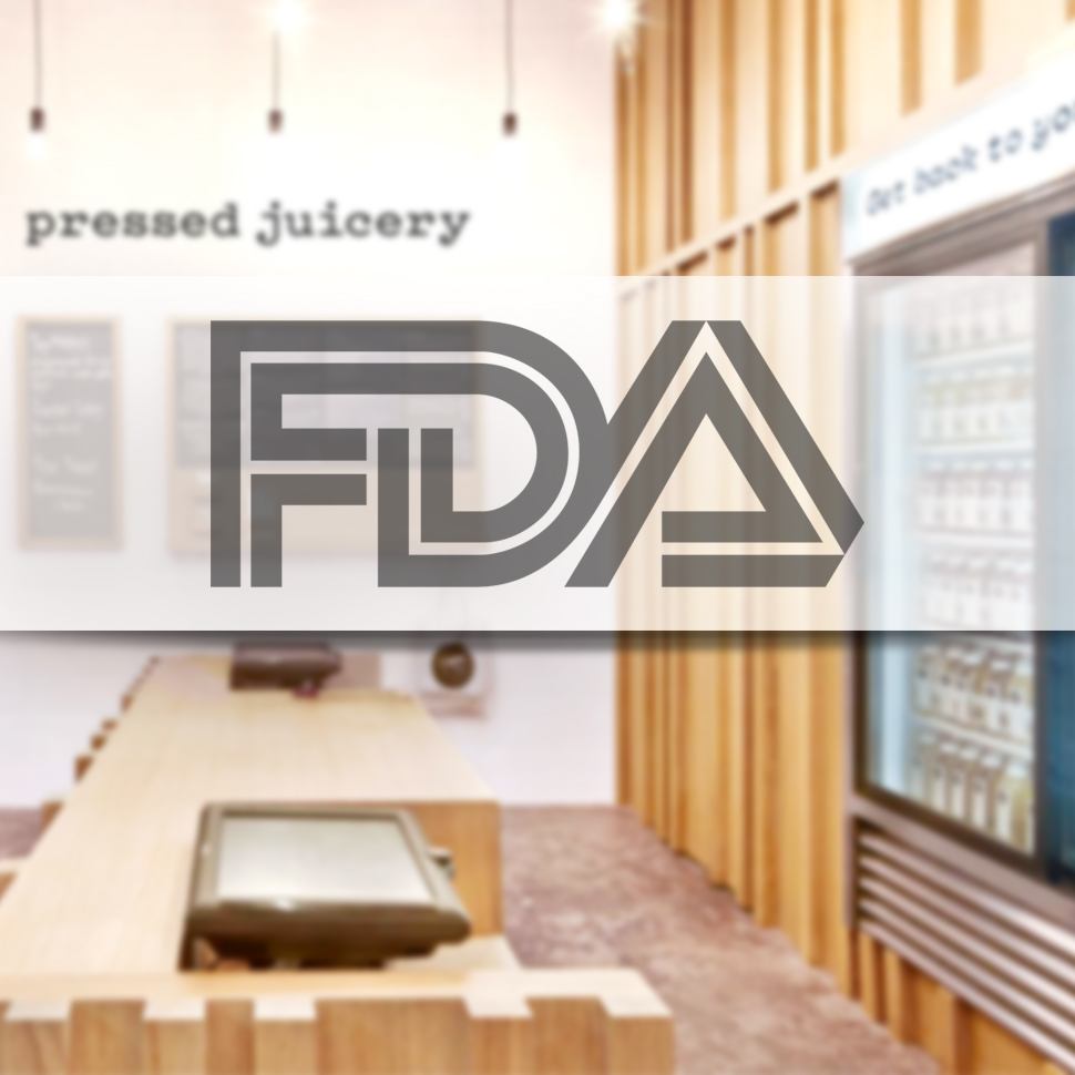 FDA Sends Warning Letter to Pressed Juicery