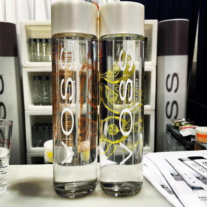 Voss Water Adds Two Flavored Sparkling Waters