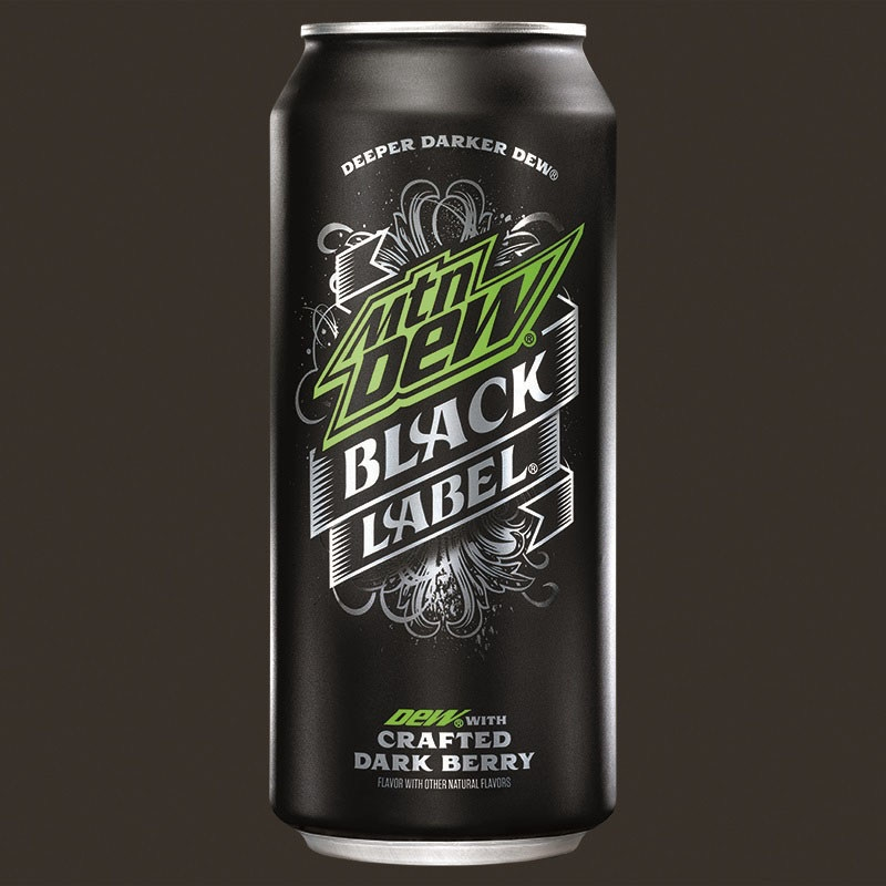 Mountain Dew Black Label Now Available Nationwide