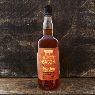 Branded Spirits USA Bacon bourbon bottle