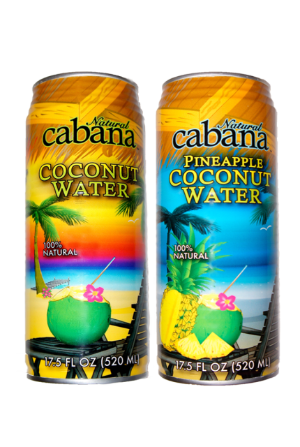 Natural Cabana Pineapple Coconut Water
