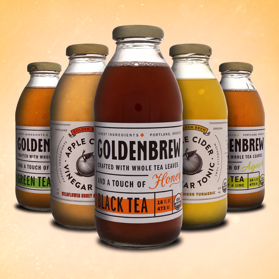 Review: Golden Brew's Crafted Tea and Apple Cider Vinegar Drinks