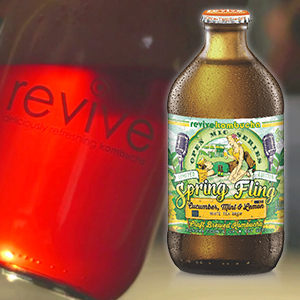 Review: Revive Kombucha Ups Its Game with Refined Labels and Packaging