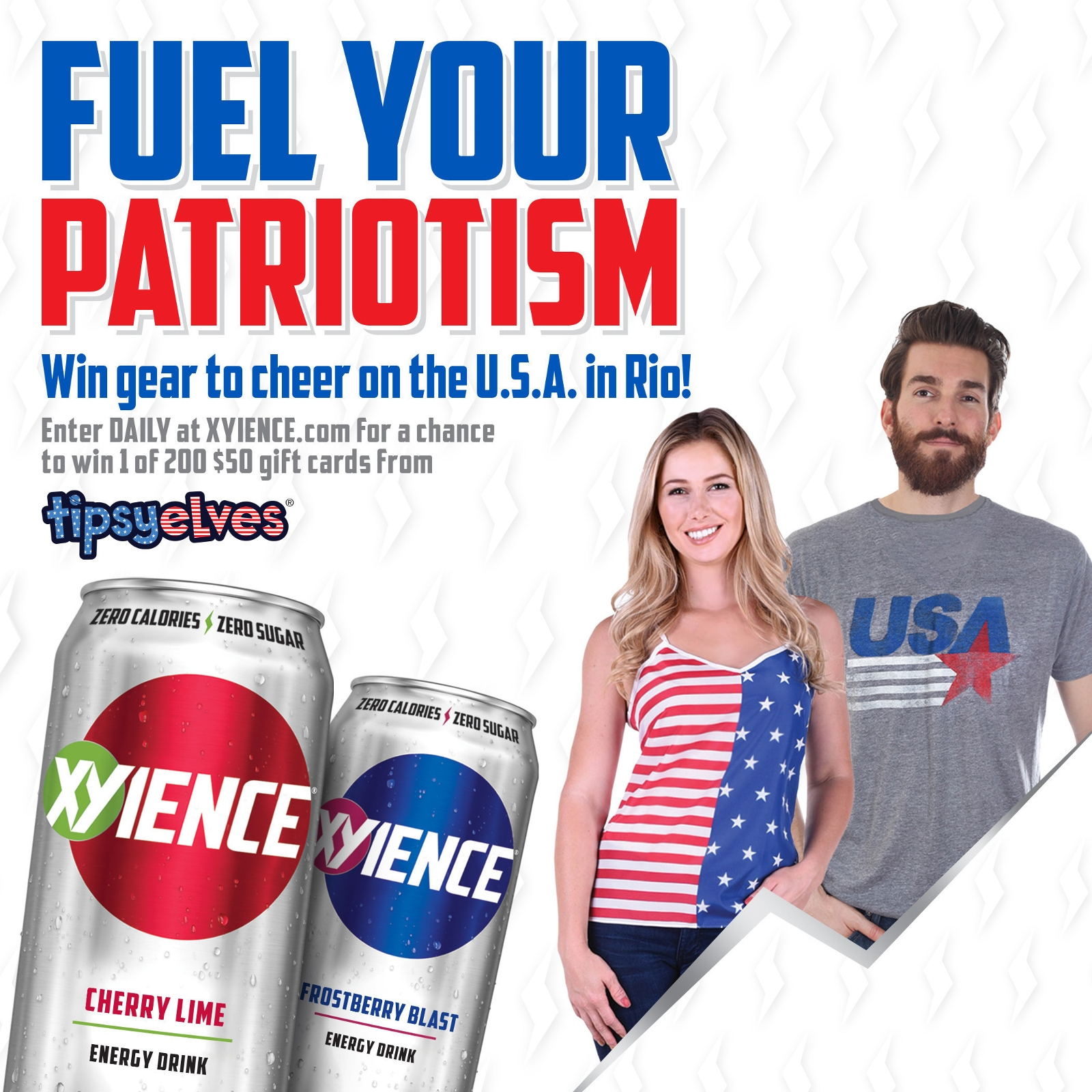 "XYIENCE Energy Drink Launches ""Fuel Your Patriotism"" Summer-Long Promotion"
