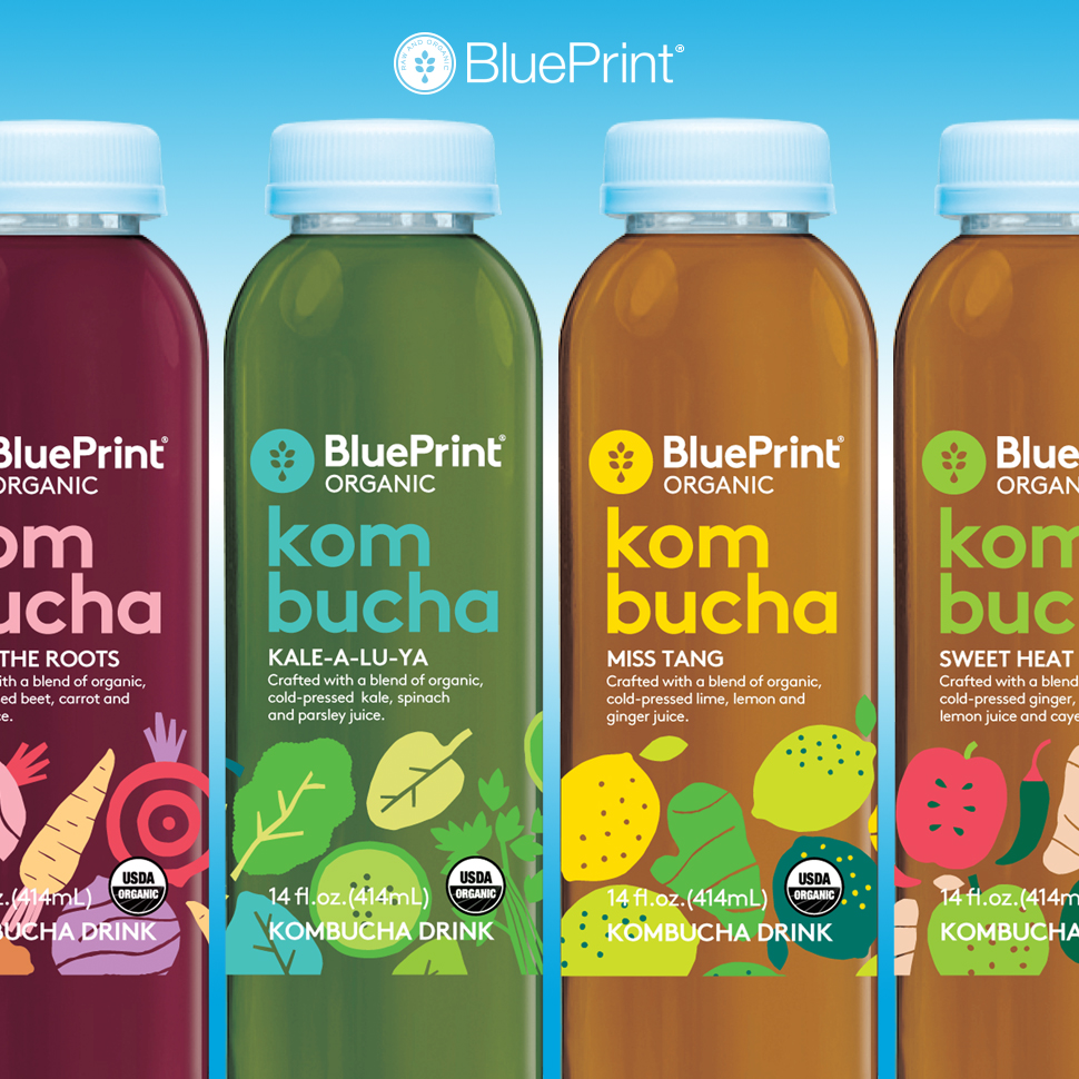 Review: BluePrint Organic Kombucha