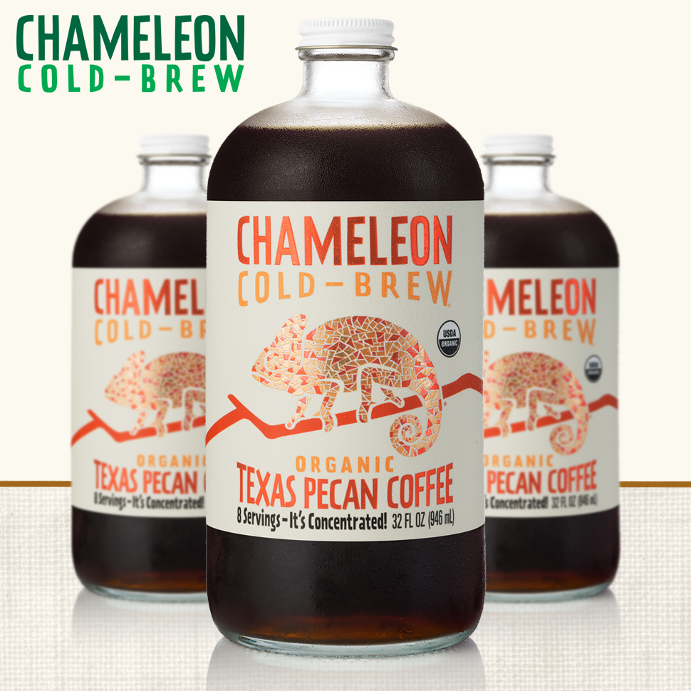 "Chameleon Cold-Brew Adds ""Texas Pecan"" to Lineup"