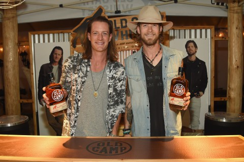 HOLMDEL, NJ - AUGUST 04:  Florida Georgia Line launches Old Camp Peach Pecan Whiskey on August 4, 2016 in Holmdel City.  (Photo by Rick Diamond/Getty Images for Old Camp Peach Pecan Whiskey )
