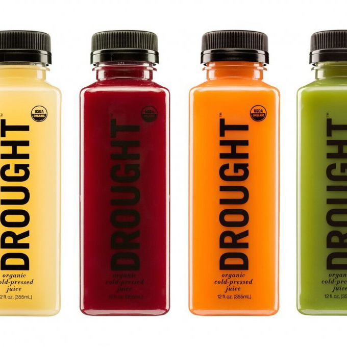DROUGHT Launches Wholesale Line of Organic, Cold-Pressed Juices