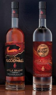 Copper & Kings launches Floodwall American apple brandy