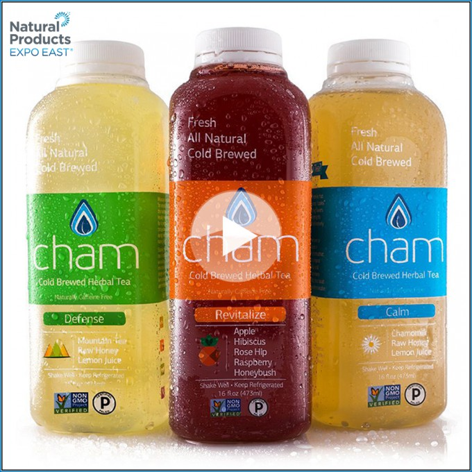 Expo East 2016 Video: Cham Sees Big Potential for Cold Brewed Tea