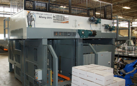 Intelligrated to showcase enhanced Alvey 891i palletizer at PACK EXPO International 2016
