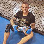 "TEN Spring Water Signs UFC Fighter Dustin ""The Diamond"" Poirier"