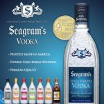 Seagram's Vodka Introduce Golden Apricot and Ruby Red Grapefruit Flavors