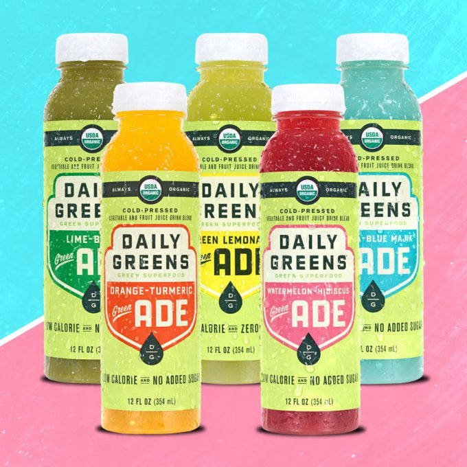 """Daily Greens' Lemonade-Inspired """"Green ADE"""" Line Launches at Costco"""