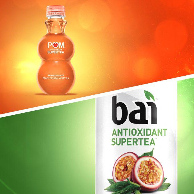 "POM Sues Bai Over ""Super Tea"" Trademark"