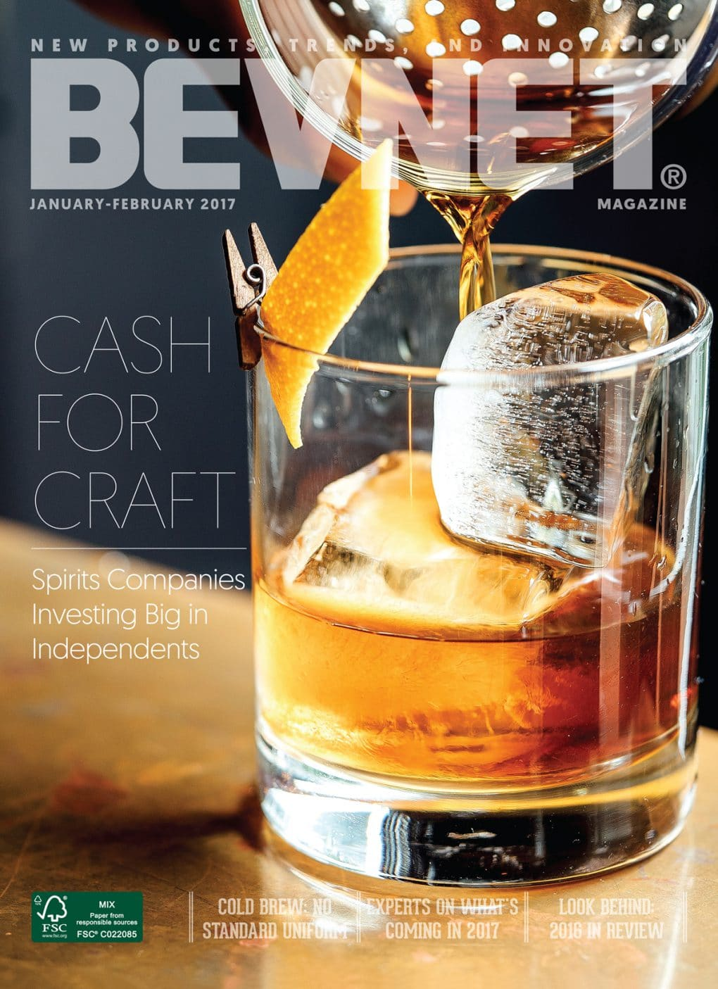Cash for Craft: Spirit Companies Invest in Independents
