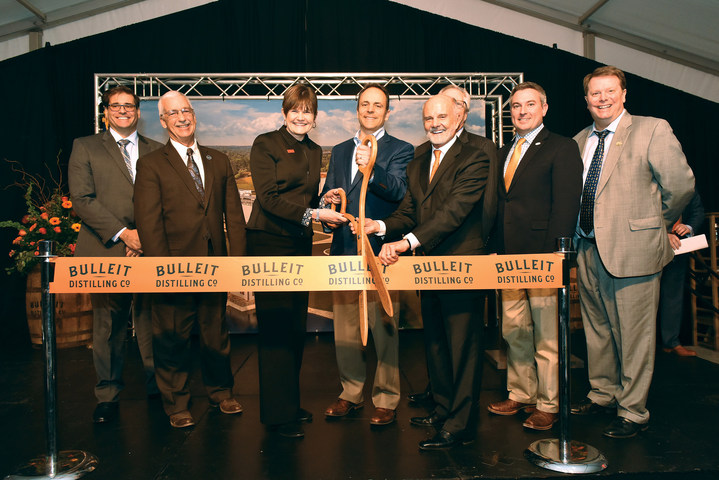 Bulleit Distilling Co Celebrates Ribbon Cutting Event At