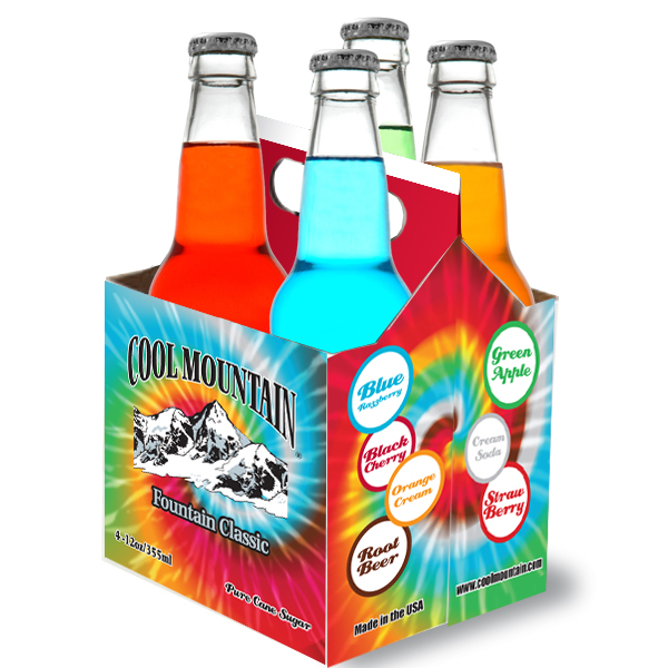Cool Mountain 4 pack