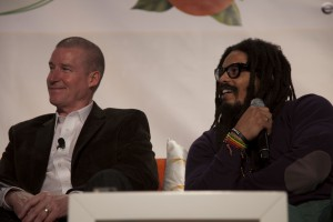 Kevin McClafferty and Rohan Marley