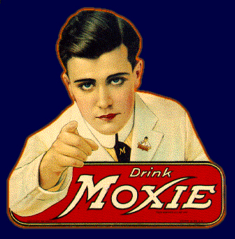 The Moxie Boy influenced the Uncle Sam logo.