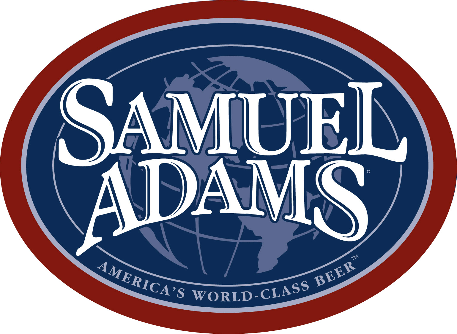 Sam Adams Color Oval Logo