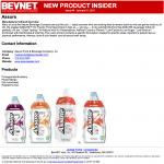 "Get a Jump on New Products with BevNET's ""New Product Insider"""