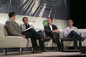Bai founder Ben Weiss, left center, and Suja CEO Jeff Church, right center, both advised companies to pass on investment and distribution offers when it doesn't fit your business model.