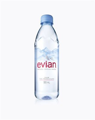 Evian's new bottle