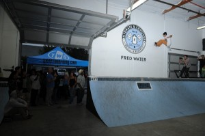 Fred Water's skatepark in Carlsbad, Calif.