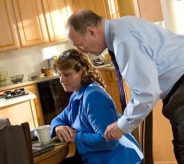 Healthcare Ad Henry and Louise Commercial shoot.
