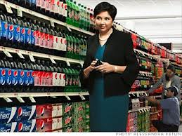 Soon to Sweeten? Pepsi CEO Indra Nooyi