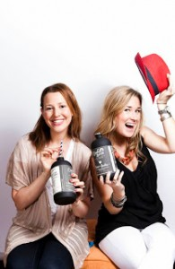 Owls Brew founders Jennie Ripps (L) and Maria Littlefield