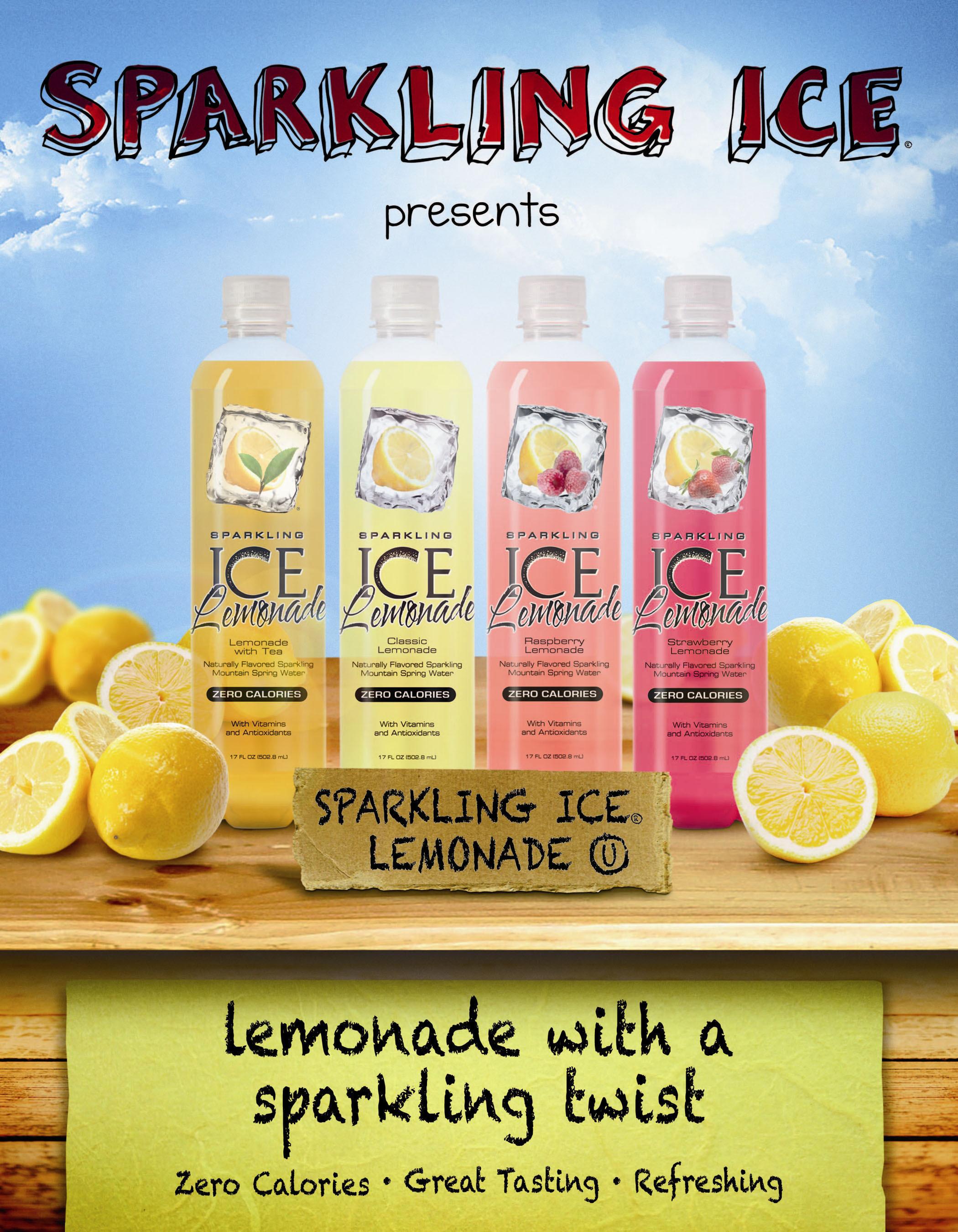 SPARKLING ICE SPARKLING LEMONADE