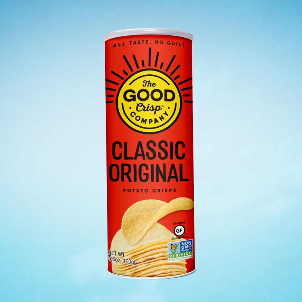 Good Crisp Rebrand