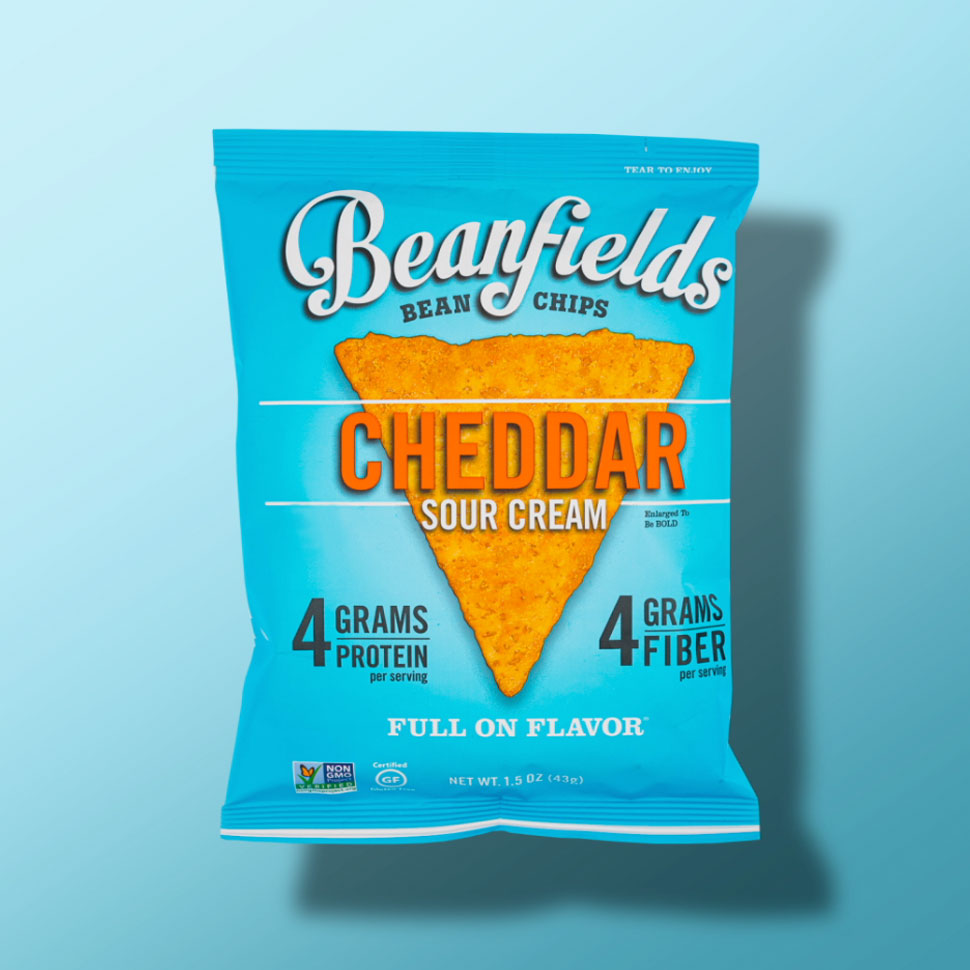 Beanfields Vegan Sour Cream and Cheddar