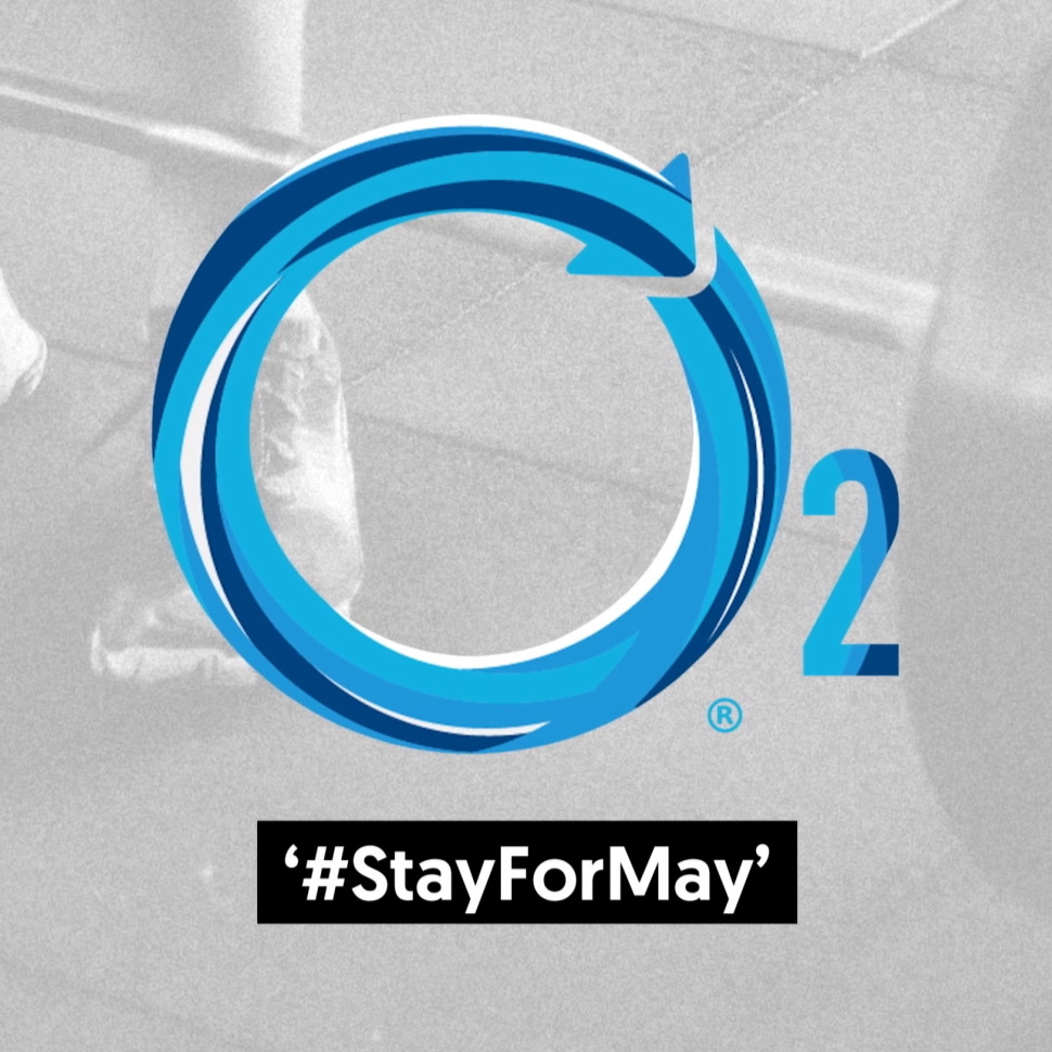 """O2 Recovery Drink """"#StayForMay"""""""