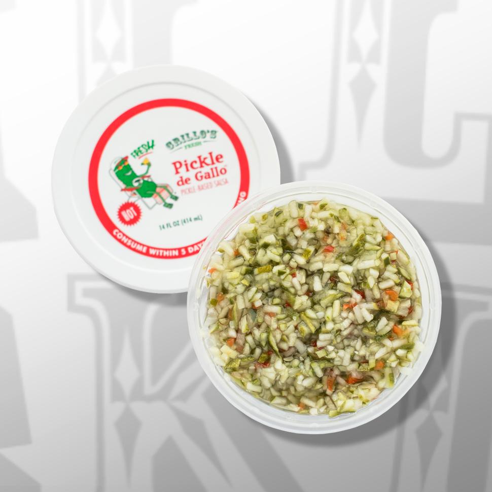 Grillo's Pickles Pickle de Gallo