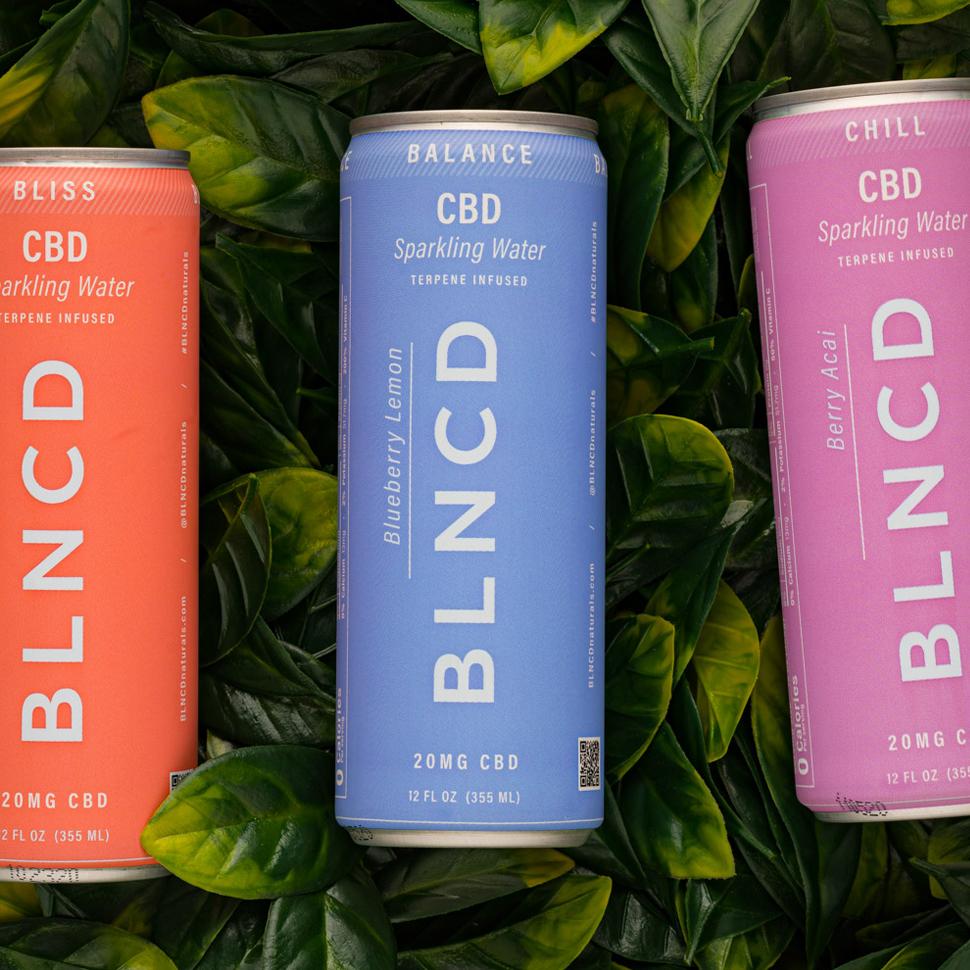 BLNCD CBD Sparkling Water