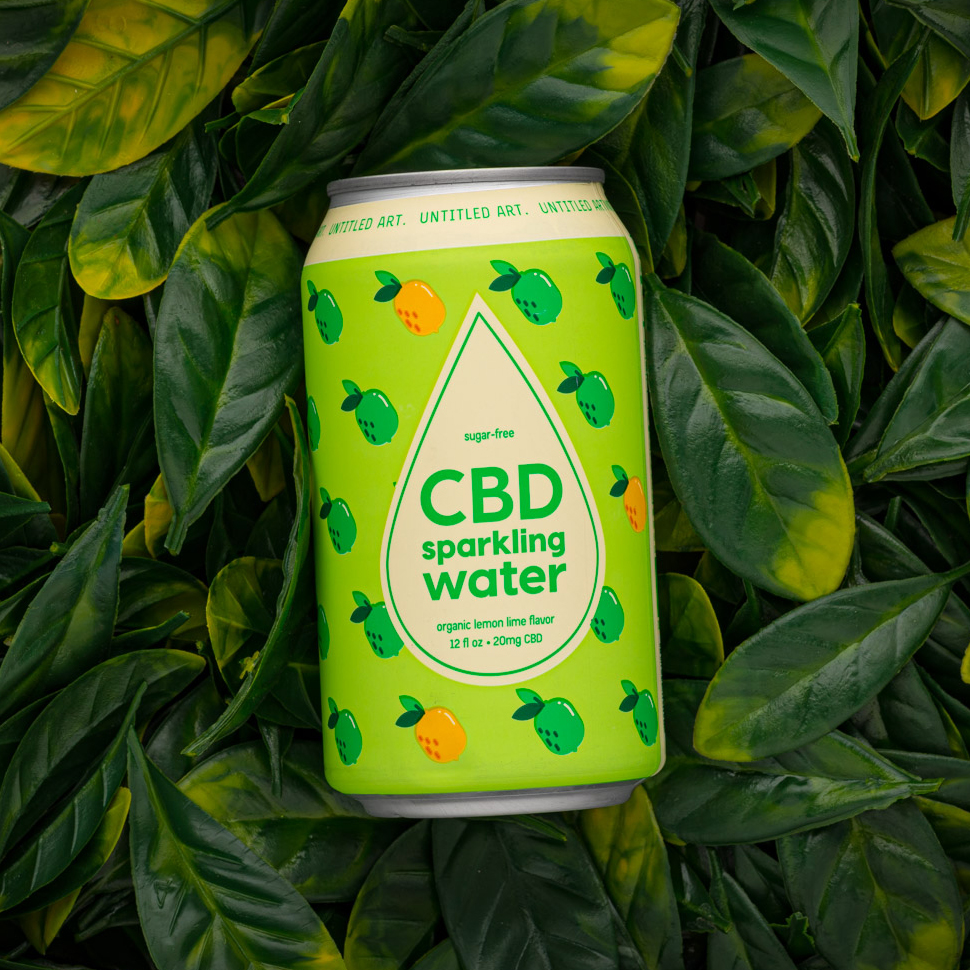 Untitled Art CBD Sparkling Water