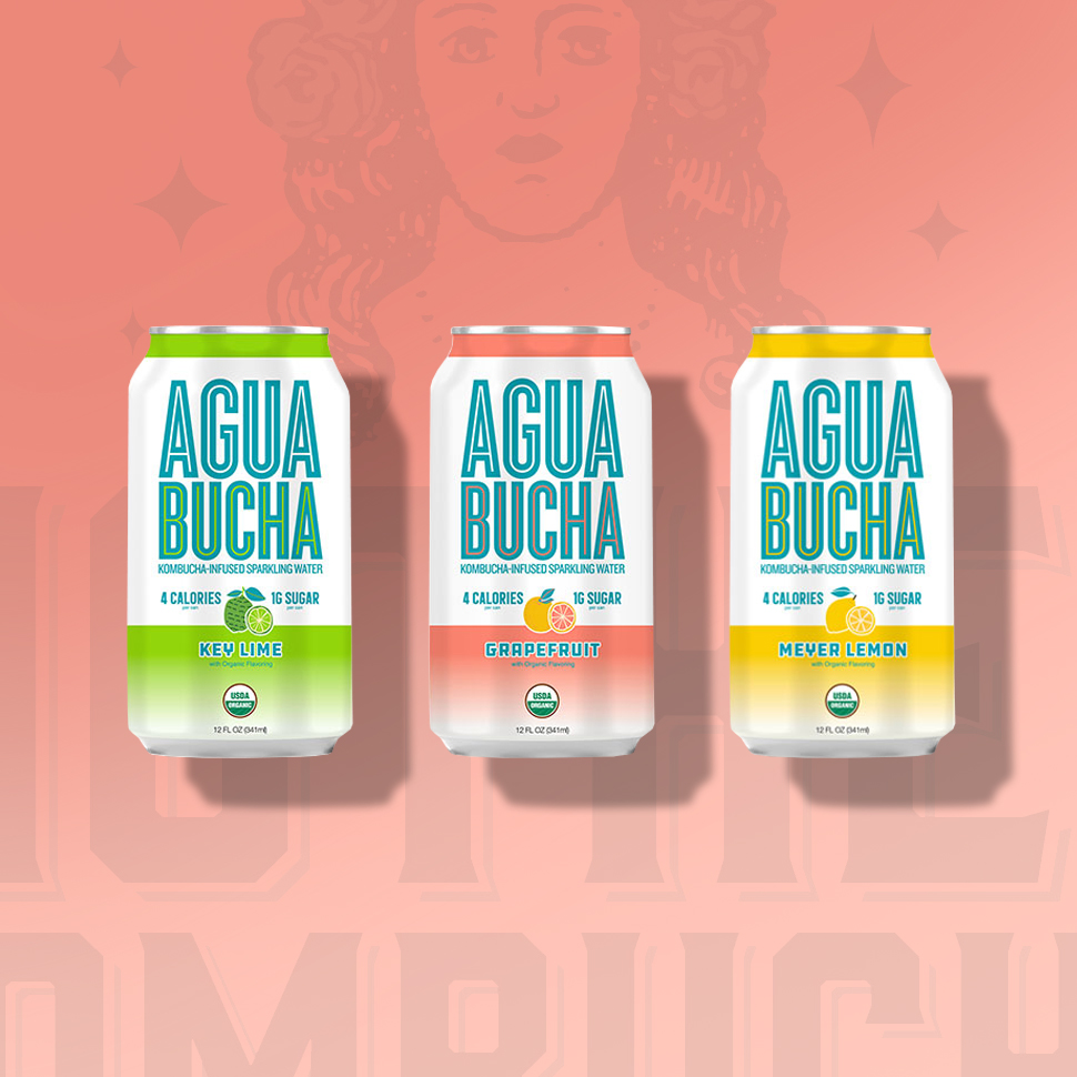 Agua Bucha Kombucha-Infused Sparkling Water