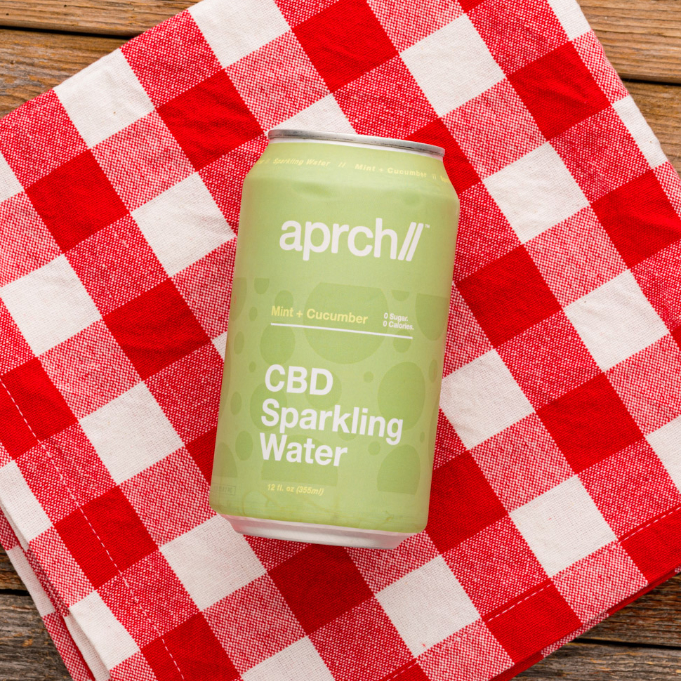 Aprch CBD Sparkling Water