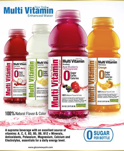 Multi Vitamin Enhanced Water  Distribution Opportunities