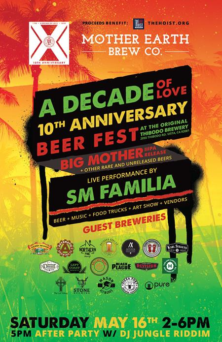 A Decade of Love: 10th Anniversary Invitational Beer Fest