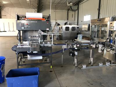 Full Plastic Water Bottling Line