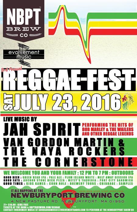 3rd Annual Reggae Fest - 7/23/2016   Brewbound com