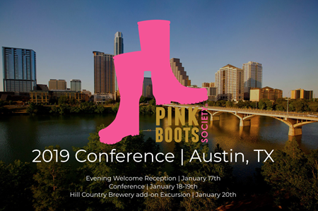 2019 Bi-Annual Conference Pink Boots Society