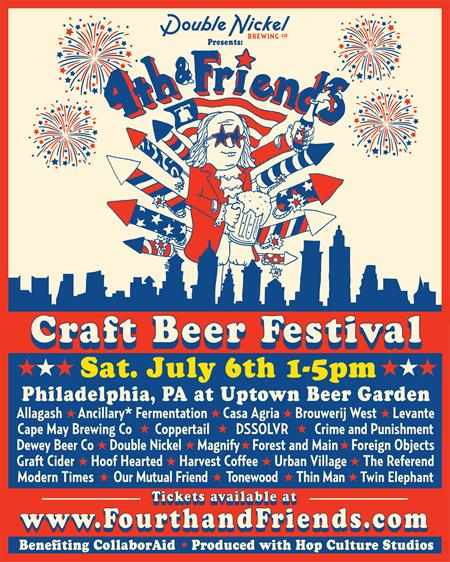 Double Nickel Presents: Fourth & Friends Craft Beer Festival